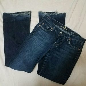 27 7 For All Mankind Dojo Bootcut Jeans